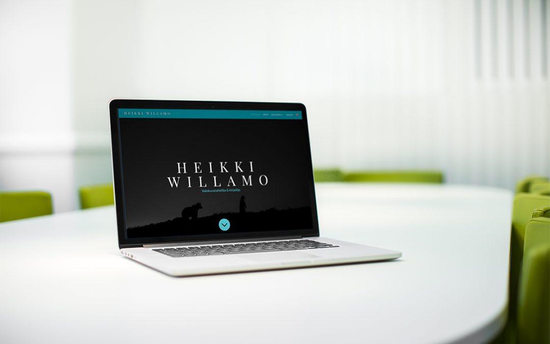 Heikki Willamon www-sivusto